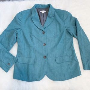 Coldwater Creek Teal Blazer